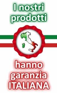 Prodotti con garanzia italiana